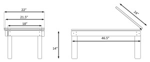 Honda Element Bed dimensions plans build